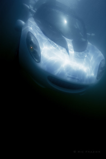 underwater photography sQuba for car magazine